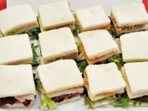 Mini sandwich vegetal